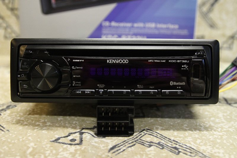 Kenwood KDC-BT32U za 139,- Eur vs. AudioTuning
