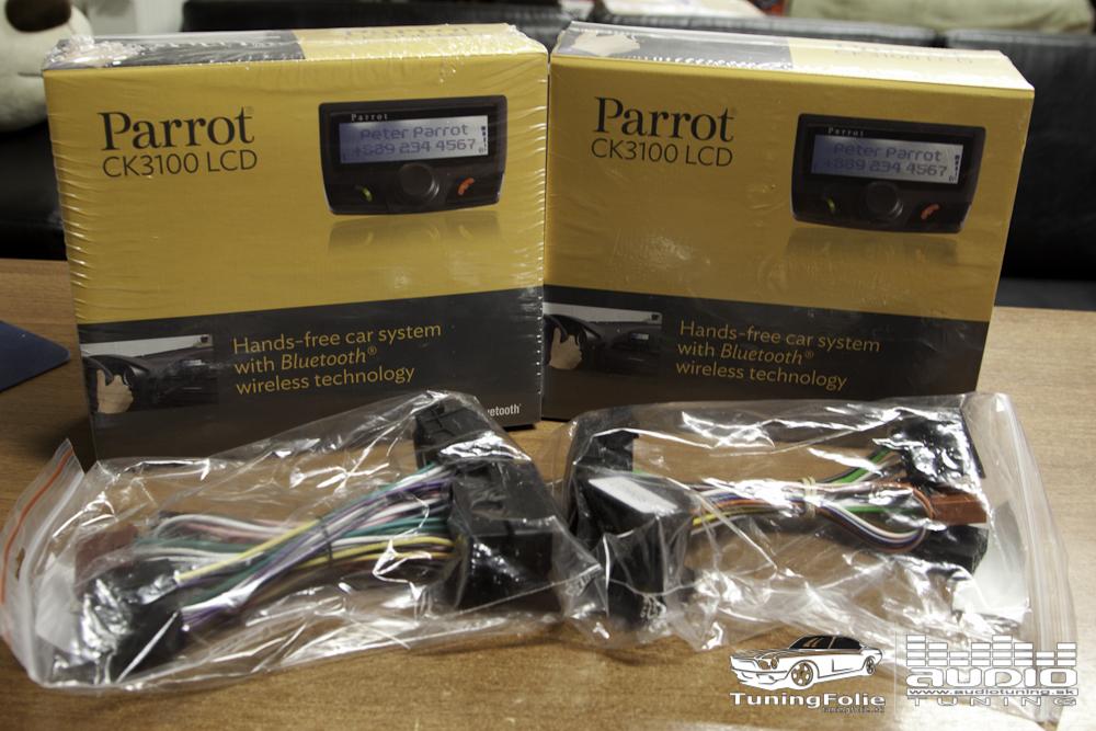 Bezpečné telefonovanie s Parrot CK3100