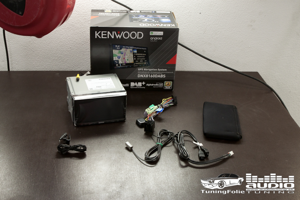 KENWOOD DNX8160DABS  AUDIOTUNING.SK