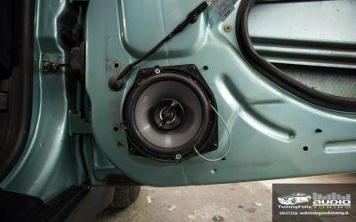 REPRODUKTORY TLMENIE ODHLUCNENIE AUTORADIO SUBWOOFER MINI COOPER R50 DRARTEX NEOPRENE GROUND ZERO ALPINE PIONEER 7352