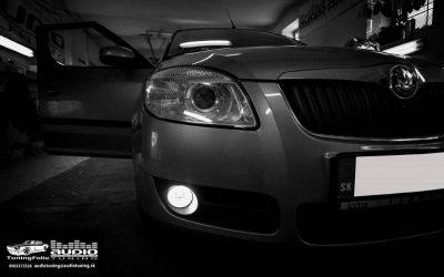 Montáž denných a hmlových LED do Škoda Roomster