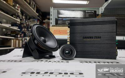 STEREO SET AUDIOTUNING GZUF 60SQX+GZNK 165SQ+GZDSP 4.80AMP