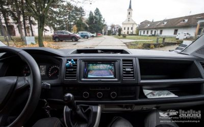 MULTIMEDIA PARKOVACIA KAMERA VW T6 PIONEER