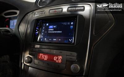 Ford Mondeo MK4 montáž autorádia Pioneer AVH-G220BT