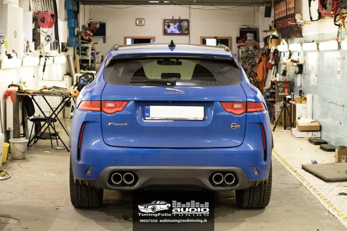 Tlmenie a odhlučnenie Jaguar F-Pace SVR