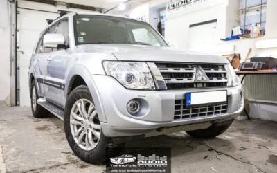 Kompletné ozvučenie Mitsubishi Pajero Rockfor Fosgate