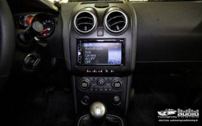 Nissan Qashqai montáž multimediálneho rádia