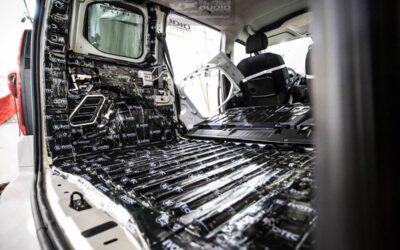 Opel Combo tlmenie a odhlučnenie
