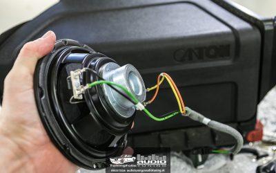 Ozvučenie a odhlučnenie Škoda Octavia 3 RS Canton