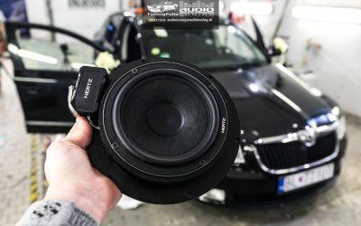 Reproduktory tlmenie Škoda Superb 2