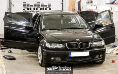 Kompletné ozvučenie BMW 330d e46
