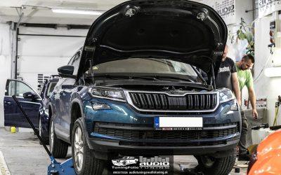Tlmenie odhlučnenie Škoda Kodiak OEM reproduktory