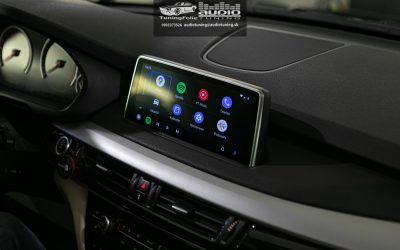 VIDEO CARPLAY ANDROID AUTO BMW X5