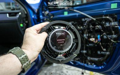 OEM zlepšenie zvuku Škoda Octavia 3 Focal Evotec